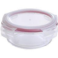 Bergner Tárolóedény élelmiszerekre - üveg, bepattintható fedéllel, 0,4 l - Tárolóedény