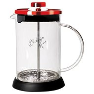 BerlingerHaus French Press 800 ml teáskanna burgundi fémes szín - Dugattyús kávéfőző