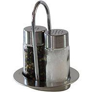 Berndorf Sandrik fuszertartó szett- 2 részes- só és bors - Asztali készlet
