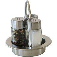 Berndorf Sandrik 3 részes fuszertartó szett- só, bors és fogvájó - Asztali készlet