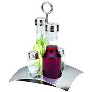 Berndorf Sandrik 4 részes fuszertarto szett- só, bors, olaj és ecet - Asztali készlet
