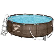 BESTWAY Steel Pro MAX Pool Set 3,66m x 1,00m - Medence