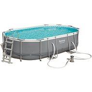BESTWAY Oval Pool Set 4.88m x 3.05m x 1.07m - Medence