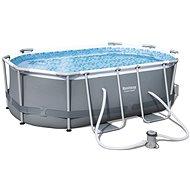 BESTWAY Oval Pool Set 3,00m x 2,00m x 84 cm - Medence