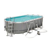 BESTWAY Oval Pool Set 5.49m x 2.74m x 1.22m - Medence