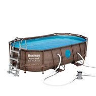 BESTWAY Oval Pool Set 4.27m x 2.50m x 1.00m - Medence