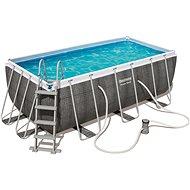 BESTWAY Rectangular Pool Set 4,12 m x 2,01 m x 1,22 m - Medence