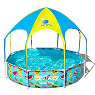 BESTWAY Steel Pro UV Careful Splash-in-Shade Play Pool 2.44m x 51cm - Medence