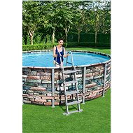 BESTWAY Power Steel Pool Set 4.88m x 1.22m - Medence