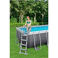 BESTWAY Power Steel Rectangular Pool Set 4.88m x 2.44m x 1.22m - Medence