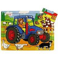 Bigjigs Fa puzzle - Traktor - Puzzle