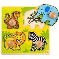 Fa kirakós játék - Safari - Kirakós játék