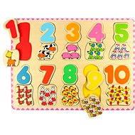 Bigjigs Fa számolós puzzle II - Puzzle