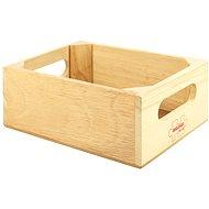 Bigjigs Láda fából készült élemiszerek tárolására - Játékszett