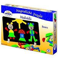 Detoa Mágneses Puzzle Medvék - Puzzle