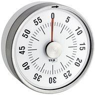 Mechanikus időzítő TFA 38.1028.02 - PUCK - fehér - Konyhai időzítő
