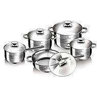 Blaumann rozsdamentes acél készlet 10db Jumbo Gourmet Line BL-1637 - Edénykészlet