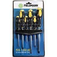 FIELDMANN FDS 1102-6R - Csavarhúzó készlet