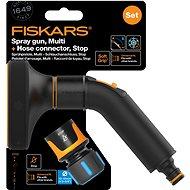 """FISKARS Comfort szett - öntözőpisztoly multi + tömlőcsatlakozó Comfort STOP 1/2 """"- 5/8"""" - Öntöző készlet"""