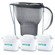 BRITA Marella fekete, Starter pack (beleértve 3MX+) - Vízszűrő kancsó