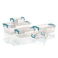 BRILANZ GEMA univerzális doboz készlet 0,3 / 0,5 / 1,2 / 1,8 / 4 l, 10 részes - Ételtartó szett