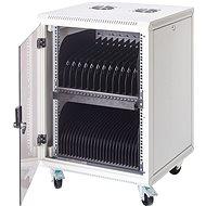 BScom rack 15 laptophoz, 16 x 230V csatlakozó - Töltőállomás