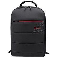 """BESTLIFE Cplus Black 15.6"""", fekete/piros - Laptop hátizsák"""