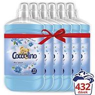 COCCOLINO Blue Splash 6 × 1,8 l (432 mosás) - Öblítő