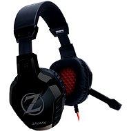 Zalman ZM-HPS300 fekete - Gamer fejhallgató