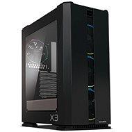 Zalman X3 Black - Számítógépház