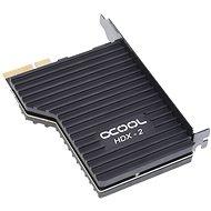 ALPHACOOL Eisblock HDX-2 PCIe 3.0 x4 Adapter M.2 PCIe NGFF - Merevlemez hűtő