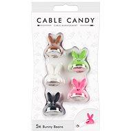 Cable Candy Bunny Beans 5 darab színkeverék - Kábel rendező