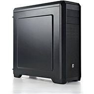 SilentiumPC Regnum RG4 fekete - Számítógép ház