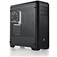 SilentiumPC Regnum RG4T Tempered Glass fekete - Számítógép ház