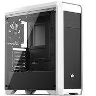 SilentiumPC Regnum RG4TF Tempered Glass fehér - Számítógép ház