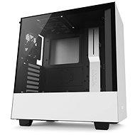 NZXT H500 fehér - Számítógép ház