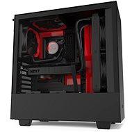 NZXT H510 Matte Black Red - Számítógépház