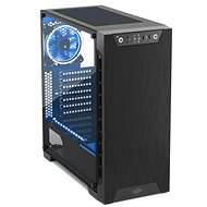 SilentiumPC Armis AR3 TG-RGB Pure Black - Számítógép ház
