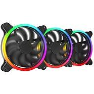 SilentiumPC Sigma HP Corona ARGB 140 3-pack - Számítógép ventilátor