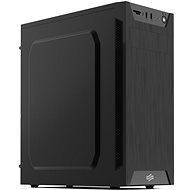 SilentiumPC Armis AR1 Pure Black - Számítógép ház