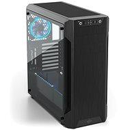 SilentiumPC Armis AR7 TG fekete - Számítógép ház