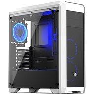 SilentiumPC Regnum RG4TF RGB Frosty White - Számítógép ház