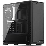 SilentiumPC Regnum RG1 TG Pure Black - Számítógép ház