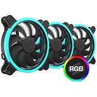 SilentiumPC Corona HP RGB Kit (3×140 mm) - Számítógép ventilátor