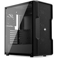Silentium PC Regnum RG6V TG tiszta fekete - Számítógép ház