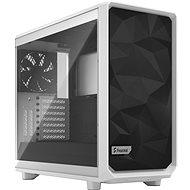 Fractal Design Meshify 2 White TG Clear - Számítógépház