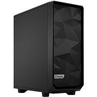 Fractal Design Meshify 2 Compact Black Solid - Számítógépház