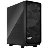 Fractal Design Meshify 2 Compact Black TG Dark - Számítógépház