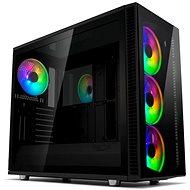 Fractal Design Define S2 Vision RGB Blackout - Számítógép ház