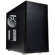 Fractal Design Define R4 Black Pearl - Oldalablakkal - Számítógép ház